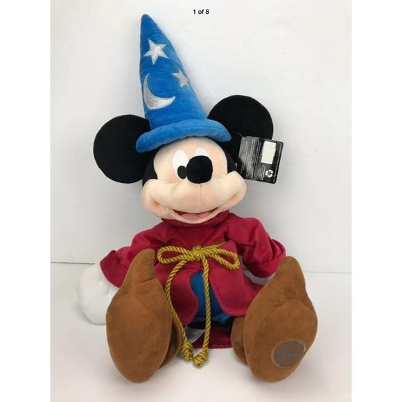 """Disney theme Park Wizard Mickey Mouse Fantasia 23"""""""